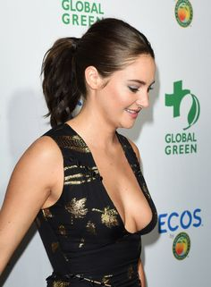 SHAILENE WOODLEY at Global Green 20th Anniversary Awards in Los Angeles  actress Shailene Woodley