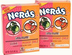 Wonka Nerds - Dulceria Mango Chili Guava x 24 units Chili, Nerd, The Unit, Candy, Snacks, Guava Fruit, Appetizers, Chilis