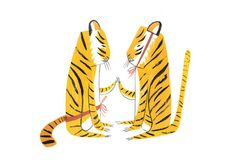 abode love: a man's home is his wife's castle: tigers... it always goes back to tigers...