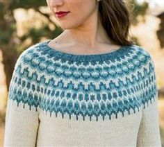 Meltwater Pullover by Kate Gagnon Osborn - Knitting Daily - Blogs