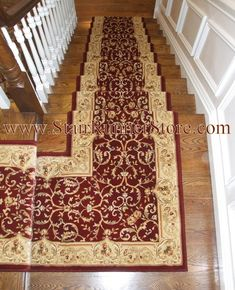by The Stair Runner Store - Creative Carpet & Rug LLC  Oxford, CT, US 06478 · Stair Runner Landing Installations  http://www.StairRunnerStore.com  Stair Runner Installed with a custom fabricated landing creating a continuous installation on the staircase. All installations and fabrication work by John Hunyadi, The Stair Runner Store Oxford, CT