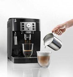 Save on Delonghi Super Automatic Espresso, Latte and Cappuccino Machine Cappuccino Maker, Cappuccino Coffee, Cappuccino Machine, Espresso Maker, Coffee Maker, Espresso Latte, Coffee Mugs, Machine Nespresso, Cafe Nespresso