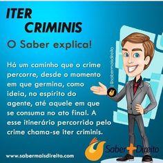 Dica Direito Penal - Iter criminis #DicaOAB #direito