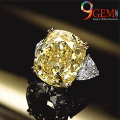 Make your Lifestyle Luxury with this endearing Yellow sapphire  diamond ring