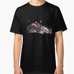 """#BlumenundNachtigall-Geschichtn über die Liebe zur Natur."" T-shirt by Herogoal   Redbubble #biktshirtkids#biketshirtmen,motocycletshirt,#fuuytees Tshirt Colors, Wardrobe Staples, Female Models, Chiffon Tops, Heather Grey, Classic T Shirts, Mugs, Cotton, Mens Tops"