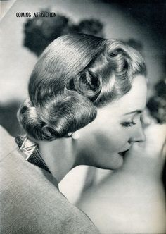 Forties Fashions: Vintage Haircuts & Hairstyles for Short Hair