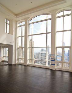 I love the floors and windows.