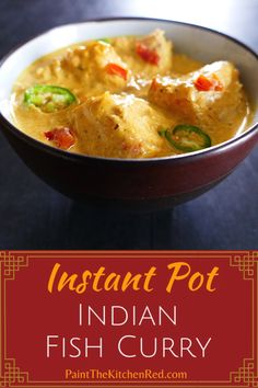 Instant Pot Indian Fish Curry is inspired by a popular fish curry called Fish Molee that's traditional in Kerala, in South India. This mild coconut milk curry with a tinge of tartness is a quick and Indian Fish Recipes, Cod Fish Recipes, Seafood Recipes, Seafood Curry Recipe, Curry Recipes, Healthy Recipes, Easy Fish Curry Recipe, Best Instant Pot Recipe, Instant Pot Dinner Recipes