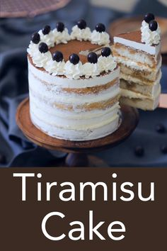 Tiramisu in the form of a layer cake from Preppy Kitchen! The sponge is soft, fluffy, moist and soaked with a coffee, brandy, liqueur mixture. Between each layer is a custard-like mascarpone filling flavored with brandy. Easy Cookie Recipes, Baking Recipes, Homemade Cake Recipes, Homemade Breads, Bolo Tiramisu, Tiramisu Cupcakes, Tiramisu Cheesecake, Patisserie Fine, Cake Fillings