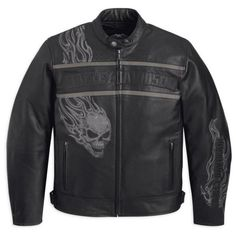 harley davidson clothing for women | Home  Men  Harley Davidson  Harley Davidson Mens T-3 Leather Jacket
