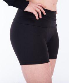 Booby Trap Bras- Black Yoga Shorts