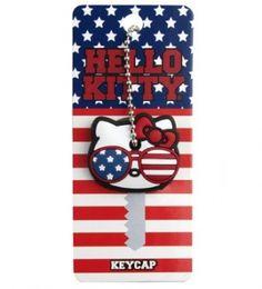Girlzlyfe.Com - Hello Kitty Americana Key Cap, $6.00