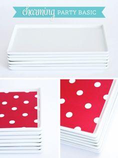 Cuatro Rectangle Platter - Charming Party Basic Favorite Serving Pieces