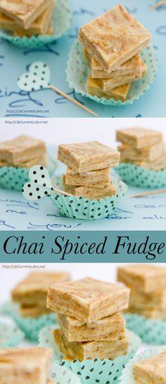 Chai Spiced Fudge