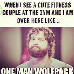 Omg yes yes yes yes yes! I need a one man wolf pack shirt for the gym