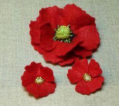 tuto fleur en feutrine par Catherine martini