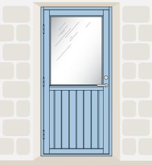 Elegant Kirkaig   Solid U0026 Glazed Panel Doors | Wood Utility Doors | Broxwood