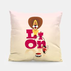 Circus Lion – Pillow at Live Heroes by Pia Kolle