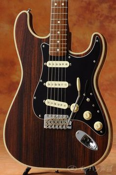 Fender Japan all rosewood Strat. Unweak Stratocaster. Bound body