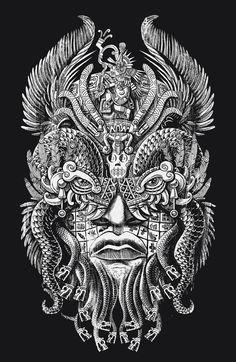 Quetzalcoatl by qetza on deviantART