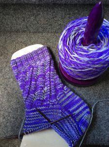 tolles Muster für Socken