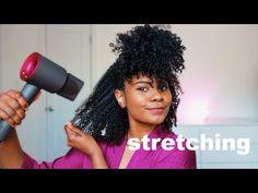 Blow Dry Natural Hair, Natural Hair Blowout, Thick Natural Hair, Natural Hair Tips, Natural Hair Styles, 3c 4a Hair, Natural Hair Problems, Bob, Wash And Go