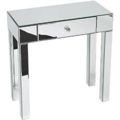 Check out the Avenue Six REF07-SLV Reflections Foyer Table in Silver Mirror priced at $239.74 at Homeclick.com.