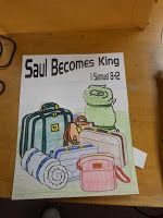 Hands On Bible Teacher: Saul Anointed King of Hebrews by Samuel