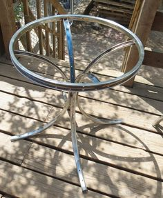 Upcycled Bicycle Tables   The End Table