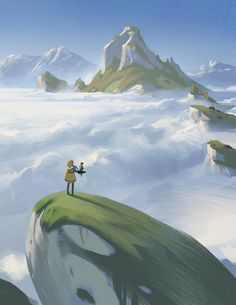 ArtStation - Above the Clouds, Justin Oaksford