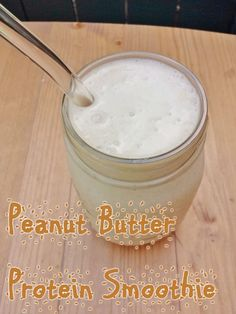 peanut butter protein smoothie without protien powder recipe