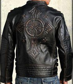 AFFLICTION* Gear Up Limited Edition Biker Leather Jacket