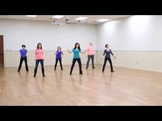 Listen - Line Dance (Dance & Walk Thru)