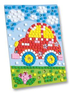 Moosgummi eignet sich ideal zum Verzieren und Dekorieren von Grußkarten bspw. Mehr unter www.folia.de