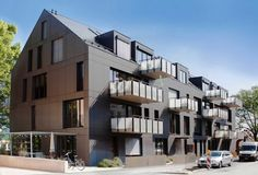 Alexpark Ort Tübingen Baujahr 2010-2011 Bauherr Baugemeinschaft Konzept Neubau eines Mehrfamilienhauses mit Gewerbe KFW-Energiesparhaus 40 Architekt Baisch + Fritz