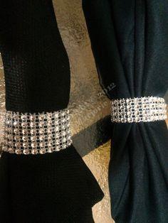 dyi napkin rings for wedding | ... Napkin Rings***~ : wedding teal gold pink purple silver diy reception
