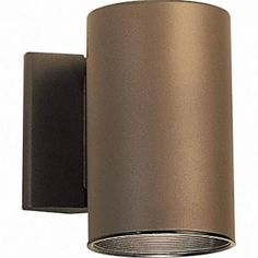 Kichler 9234 - 1 Light Outdoor Wall Cylinder -Architectural Bronze