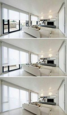 9 Wondrous Cool Tips: Living Room Blinds Master Bath wooden blinds design.Fabric Blinds Design blinds and curtains boho.Bamboo Blinds Roll Up. Modern Window Coverings, Bathroom Window Coverings, Modern Window Treatments, Bathroom Blinds, Kitchen Blinds, Master Bathroom, Patio Blinds, Outdoor Blinds, Diy Blinds