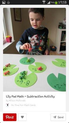 Froggy maths