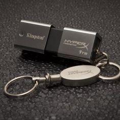 Kingston One Terabyte DataTraveler HyperX Predator USB Flash Drive.