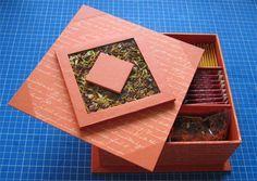 Boite à thé à fabriquer DIY Box