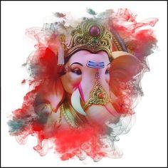 Make this Ganesha Chathurthi 2020 special with rituals and ceremonies. Lord Ganesha is a powerful god that removes Hurdles, grants Wealth, Knowledge & Wisdom. Shri Ganesh Images, Ganesha Pictures, Lord Krishna Images, Lord Murugan Wallpapers, Shiva Lord Wallpapers, Arte Ganesha, Ganpati Bappa Photo, Ganesh Lord, Jai Ganesh