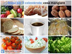 Dieta per il colesterolo alto: alimenti consentiti, da evitare e consigliati