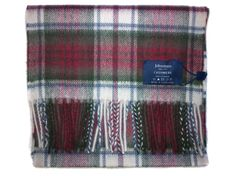 Johnstons Cashmere Scarf: Dress MacDuff
