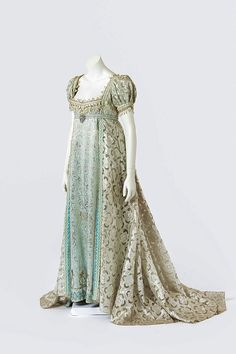 Regency era gown