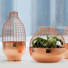 Grid Vase Conic by Jaime Hayon