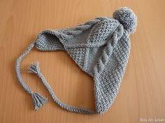 modele tricot bonnet peruvien gratuit