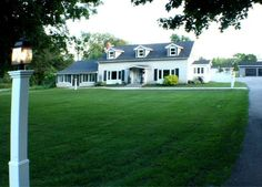 Noxon House - Bloomfield - Houses for Rent in Bloomfield, Ontario, Canada Girls Getaway, Renting A House, Ontario, Shed, Farmhouse, Cottage, Backyard, Outdoor Structures, Mansions