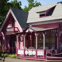 Gingerbread Cottage Victorian House