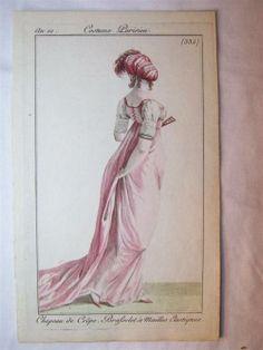 Journal des Dames et des Modes, 1801.